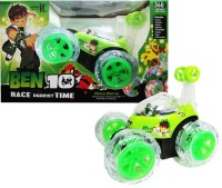 WebKreature Radio Control 360° Stunt Car - Green (Green)
