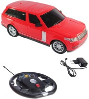 Scrazy Super Smart Red Range Rover Car With Steering (Red, Black)