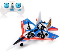 Toys Bhoomi F22 Raptor Styled 2.4g 4ch 6 Axis Rc Quadcopter With Led Light (Blue)