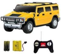 Soni R/C 1:24 Hummer H2 SUV (Yellow)