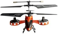 The Flyer's Bay 4 Channel Rc Avatar Fighter Helicopter (Orange)