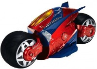 The Flyer's Bay Cyber Bike With Super Speed And Drift Function - Spiderman Edition (Multicolor)