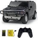 Shopcros R/C 1:24 Hummer H2 SUV - Black