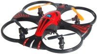 Shopcros 2.4 Ghz Control With 4.5 Channel & 3-Axis Gyro Stabilizer Defender Drone (Red) (Red)