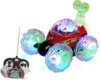 Shop & Shoppee Remote Control Stunt Car Rechargable (Multicolor)