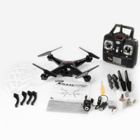 Venus-Planet Of Toys SYMA 2.4GHZ 4CH 6 AXIS QUADCOPTER W HD CAMERA WIFI TRANSMISSION (BLACK, WHITE)