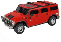 Scrazy Super Smart Red Hummer Car With Remote Control 1.24 (Red)