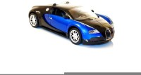 HPD Bugatti Veyron Full Function Rechargeable 1:16 Scale Remote Control Car (Blue)