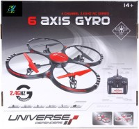 Montez Drone G-Shock Quadcopter Helicopter With Stability Feature (Black)