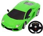 Surya Remote Control Toys Surya Green Car With Sterring Remote Control