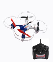 Shopcros R/C 2.4GHz 6 Axis X-Quadcopter Drone With Built-in Gyro(Blue) (Blue)