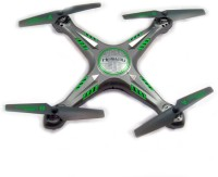 Toyzstation Heliway 2.4GHZ 6 Axis Gyro Drone Quadropter (Grey)