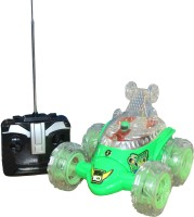 Scrazy Ben 10 Alien Force Stunt Car (Green)