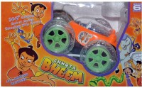 Prro Chhota Bheem Rechargeable Stunt Car With Remote Controller (Orange)
