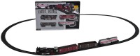 Venus-Planet Of Toys Rail King Train Set With Front LED Light For 4-6 Years (Multicolor)