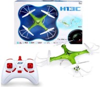 Toys Bhoomi RC Drone 2.4G 6Axis RTF Quadcopter With One Key Auto Return - RC Helicopter UAV ( Non Camera Version ) (Green)