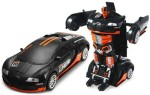 The Flyer's Bay Remote Control Toys The Flyer's Bay Troopers RC Transforming Hero Car cum Robot Simulation Model with Sound Light