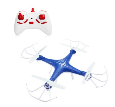 Building Mart Fly High RC Quadcopter Drone With One Key Auto Return (Non Camera Version) (Blue)