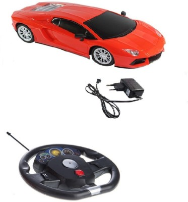 A2b Remote Control Toys A2b 1:16 Lamborghini Shaped with Steering Remote Controlled Car