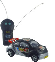 Shop4everything 18 Racing Super Power Radio Control Car Scale 1:27 (Silver, Black)