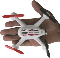 AdraxX X6 Gyro Stabilized White Micro RC Quadcopter Drone Indoor And Outdoor (White)