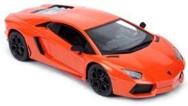 TOYBAZAAR Lamborghini R-C 1:18 Scale Powerful Rechargeable Radio Control Toy [Orange]