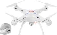 Gift World Syma X5SC Explorers 2 -2.4G 4 Channel 6-Axis Gyro RC Headless Drone (White)