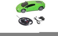 HPD Lamborghini Full Function Rechargeable 1:16 Scale Remote Control Car (Green)