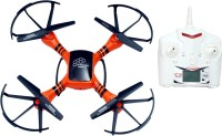 Montez Long Range I-DRONE 1.0 Quadcopter With Camera X-DRONE SCOUT 6 Axis Gyro-Orange (Orange)