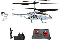 Taaza Garam Imported RC DH Model Radio Remote Control Helicopter - Gift Toy (Silver)