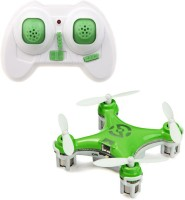 Toys Bhoomi World's Smallest RC Nano Quadcopter 4CH 2.4GHz 6-Axis Gyro LED (Green)