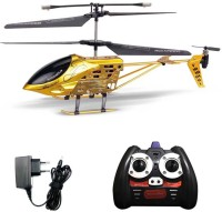 Shopcros R/C Rechargeable 3.5 Channels Helicopter With Built-in Gyro (Gold)