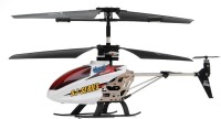Emob 3.5 Channel LED Messaging Metal Body Helicopter (Multicolor)
