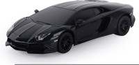 Toy House Toyhouse 1:24 Lamborghini Aventador LP720-4 W Gravity Sensor Steering Rechargeable RC CarB (Black)