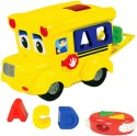The Learning Journey Remote Control Shape Sorter - Letterland School Bus - Multicolor
