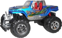 VTC Rock Crawler Blue Rc Toy With Rechargeable Batter And Charger (Blue)