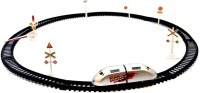 Darling Toys High Speed Metro Train Track Set (Silver)