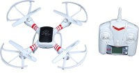 Montez Long Range I-DRONE 1.0 Quadcopter With Camera X-DRONE SCOUT 6 Axis Gyro (White)