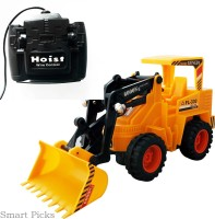 Smart Picks Battery Operated Line Control JCB Truck (Multicolor)