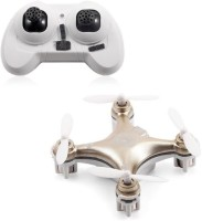 Toys Bhoomi Hot Selling 4CH 2.4GHz RC Quadcopter With Headless Mode - World's Smallest Drone (Gold)