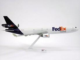 Flight Miniatures FedEx (05-Cur) MD-11 Airplane Model Snap Fit 1:200 Part# AMD-01100H-030