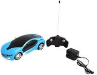Rey-Hawk Remote Control Rechargeable Famous Car With 3D Led Light - Blue (Blue)