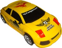 Srper Chariot Distortion Transformation Toy Tank Car With Music & Light (Yellow)