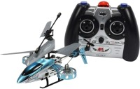 Planet Of Toys Infrared Radio Control 4 Channel Helicopter Full Range Of Flight (Blue)