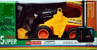 Ruppiee Shoppiee Hercules Power Driving RC Jcb (Yellow)