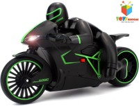 Toys Bhoomi Professional High Speed 2.4 GHz RC Motorcycle Bike With Built In Gyroscope & Bright LED Headlights (Green)