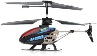 Emob LED Messaging Metal Body 3.5 Channel Remote Controlled Helicopter-Black (Multicolor)