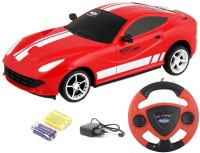 TOYBAZAAR Jackmean R-C Powerful Rechargeable Radio Control Toy With Steering [Multicolour] (Multicolour)