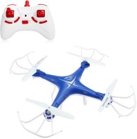 Toys Bhoomi RC Drone 2.4G 6Axis RTF Quadcopter With One Key Auto Return - RC Helicopter UAV ( Non Camera Version ) (Blue)