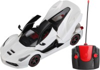 Saffire 1:16 Remote Controlled Ferrari With Opening Doors And Dicky (White)